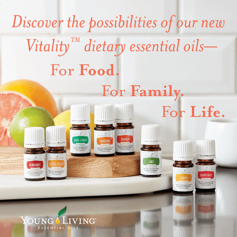 vitality young living oils