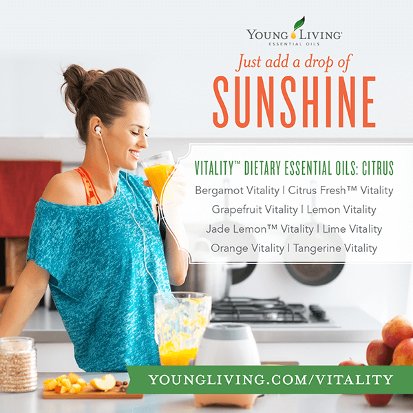 vitality-citrus essential oils