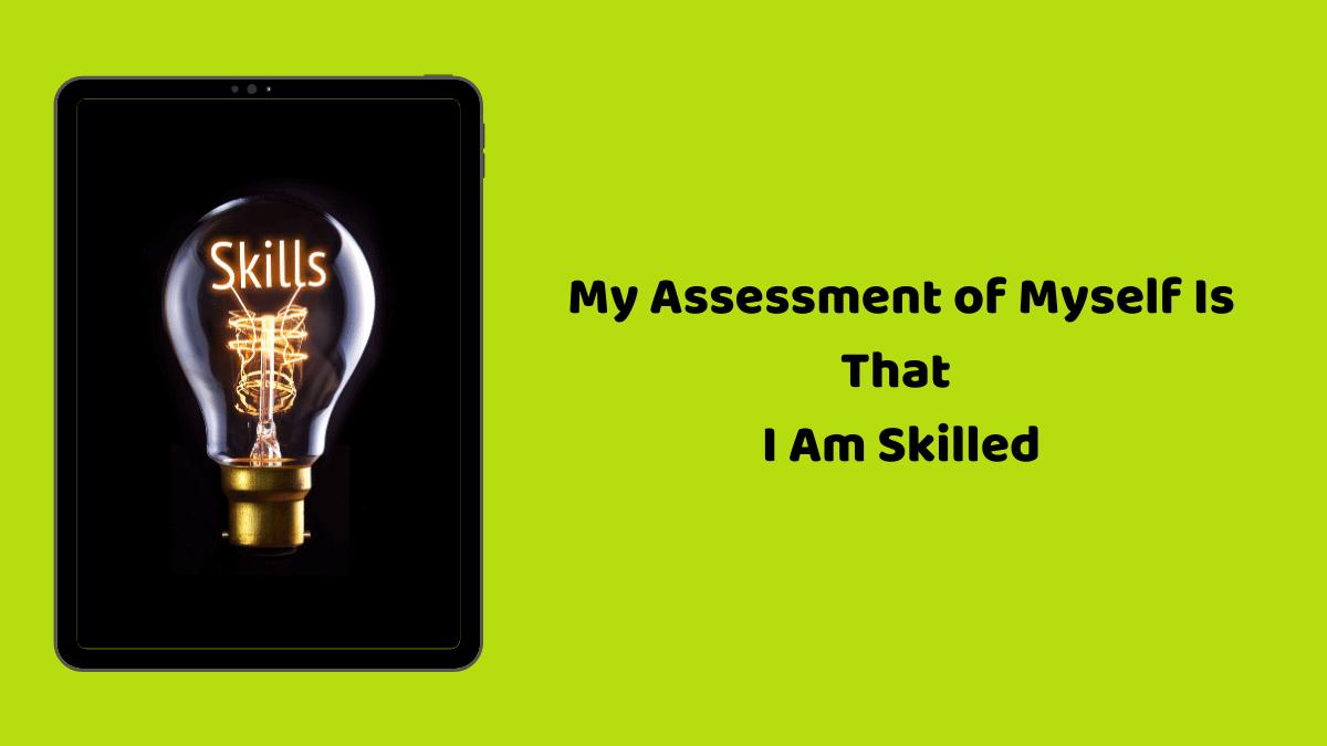 Skills Assessment